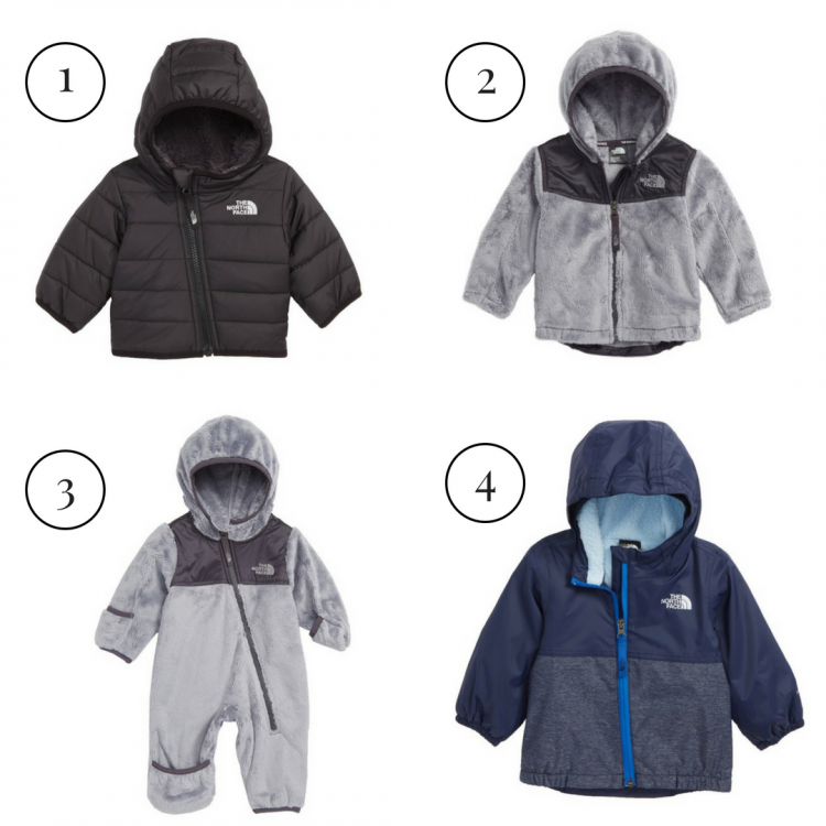 Nordstrom Anniversary Sale: Best of Baby & Maternity featured by popular Birmingham style blogger, My Life Well Loved: Northface jackets