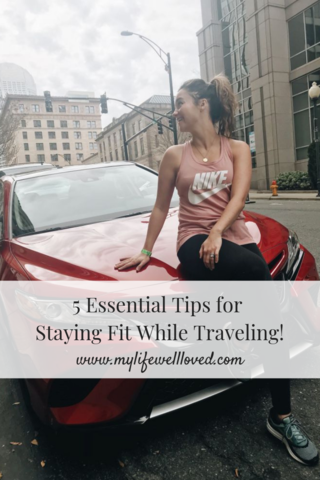 Holiday Honey Hustle & Tips For Traveling Alone by Popular Alabama Blogger My Life Well Loved // #workout #stayingfit #travelingalone