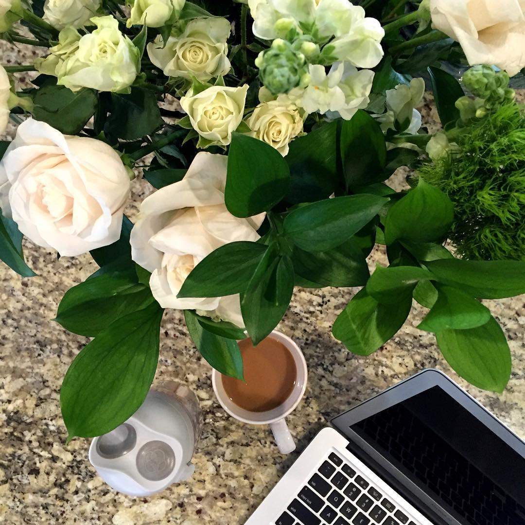 Fresh Flowers Blogging