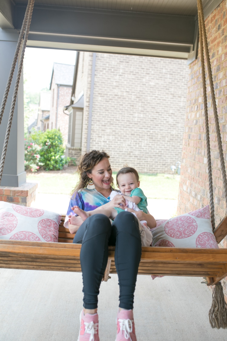 Kimono Athleisure Boy Mom Style from Heather Brown of MyLifeWellLoved.com // Littles Style // Baby Boy style // Toddler Boy and Mom PHoto Ideas