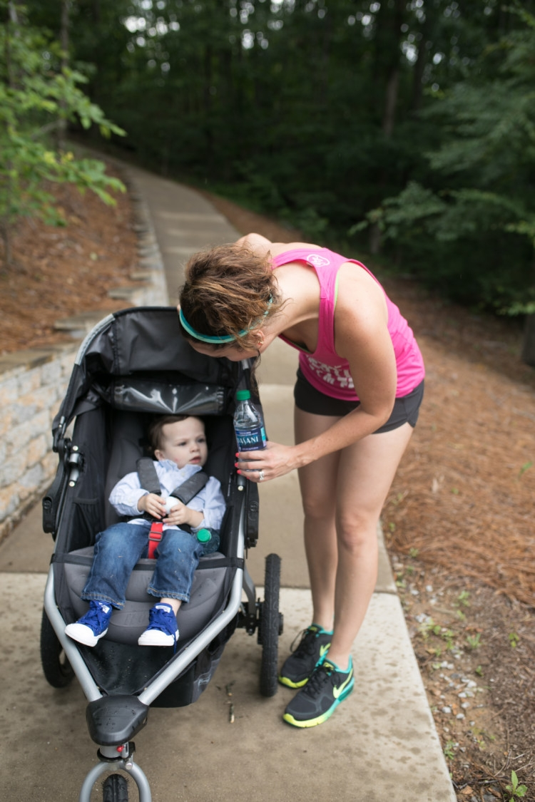 Running basics you need to know to Train for a 5k for Moms from Heather Brown of MyLifeWellLoved.com // Running Tips // How to start running // Running with a baby