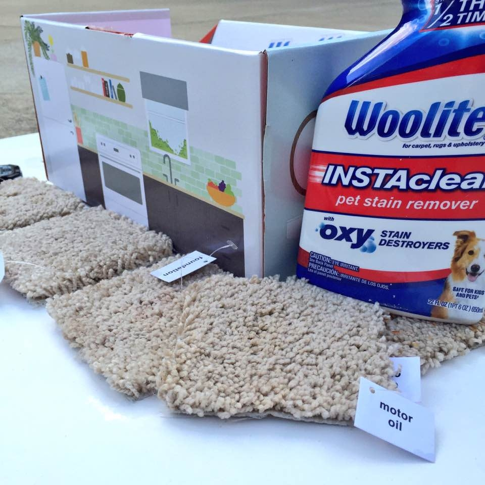 Woolite InstaClean Stain Remover on My Life Well Loved