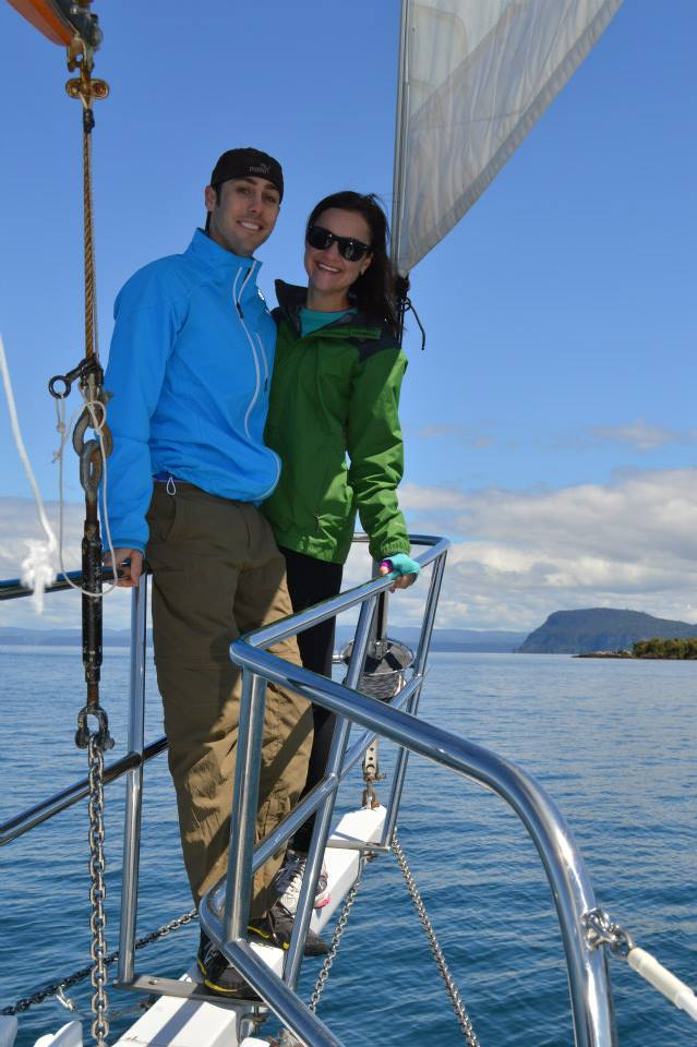 This was my favorite thing we did in Taupo! Sailing on The Barbery was so cool!