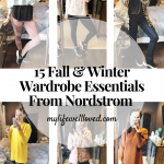 15 Fall & Winter Wardrobe Essentials from the Nordstrom Anniversary Sale