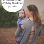 15-Minute Mom + Baby Workout 360 Video