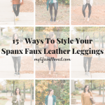 20 Ways to Style Your Spanx Faux Leather Leggings