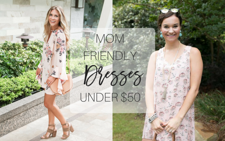 Mom-friendly Dresses under $100 from Heather of MyLifeWellLoved.com