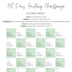 30 Day Intermittent Fasting Challenge