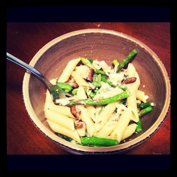 Clean Eating Asparagus Pasta