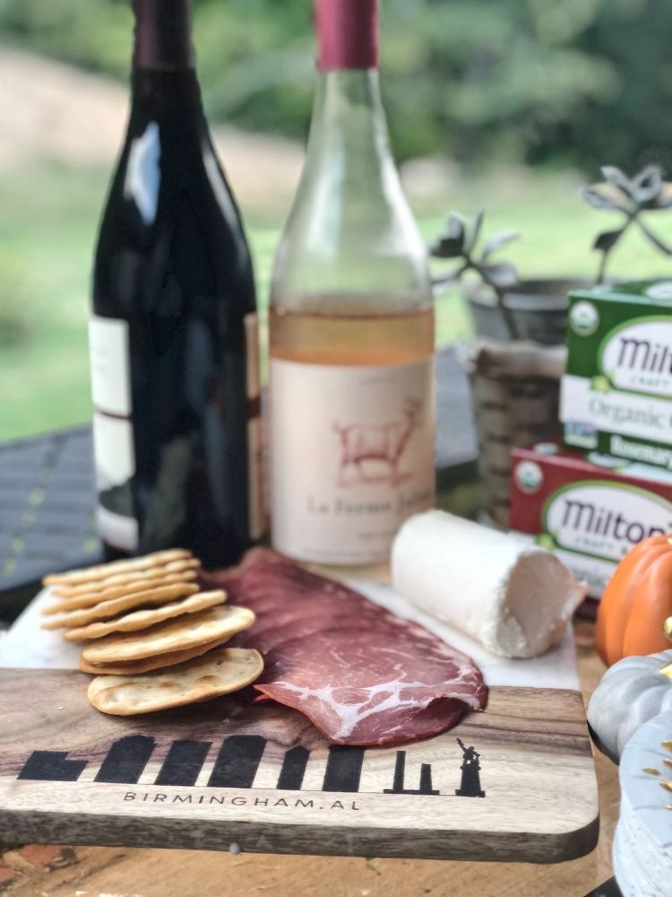 Wine and Cheese Party from Alabama blogger Heather of MyLifeWellLoved.com // cheese party and wine game