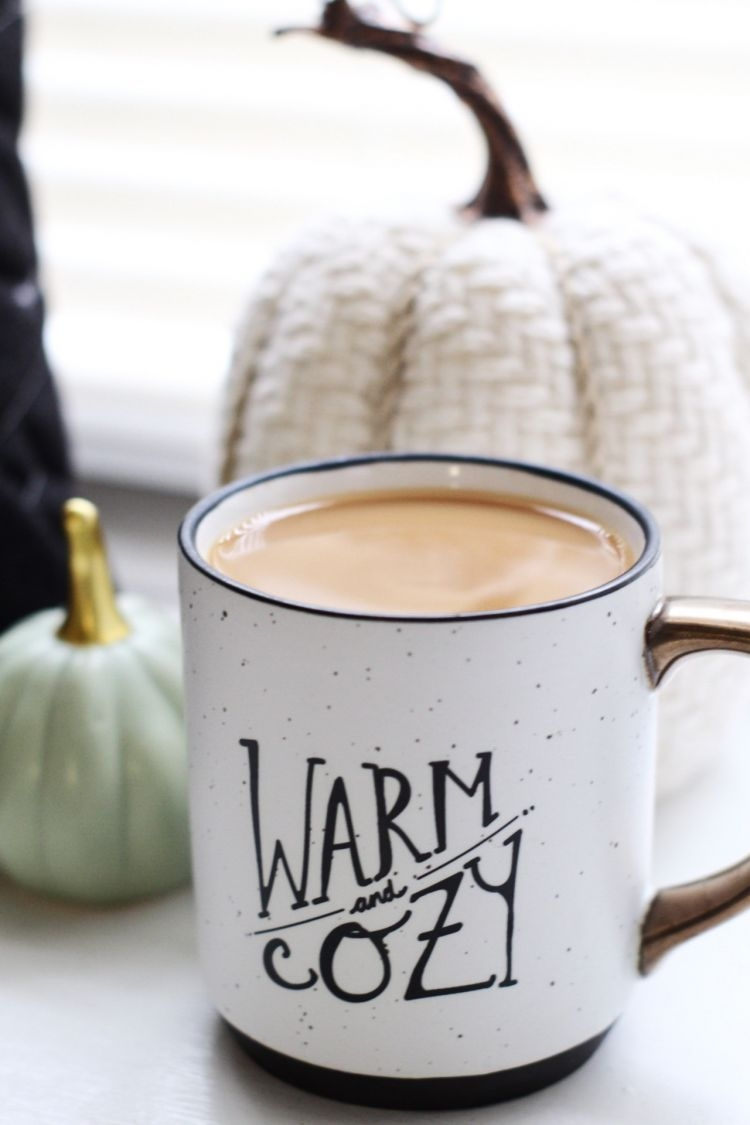 Quick & Easy Paleo Coffee Recipe: Cinnamon Vanilla Latte by Heather at MyLifeWellLoved.com // #paleo #coffee #easyrecipe #healthy