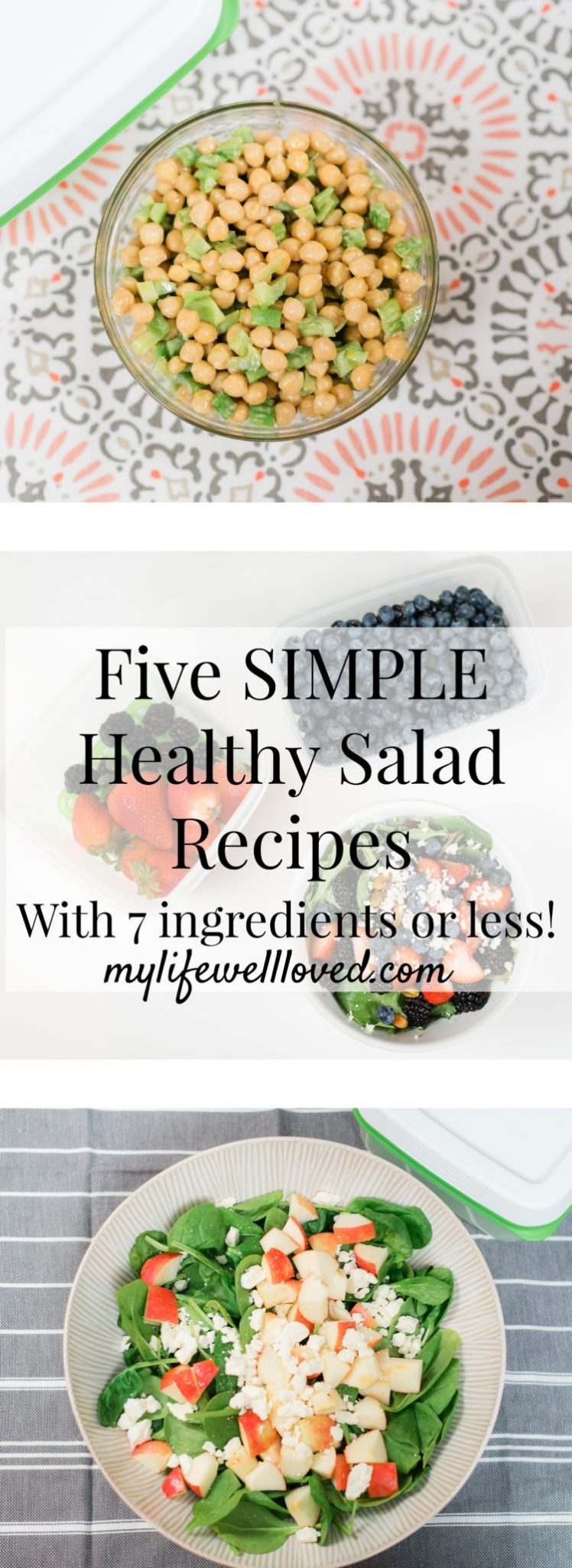 5 Super Fresh & Delicious Summer Salad Recipes by Popular Alabama Life and Style Blogger, Heather Brown // #salads #summer #recipes
