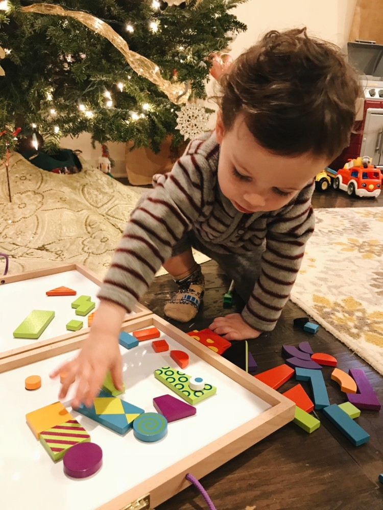 Keva Planks Imagination patterns deluxe // toddler gift idea