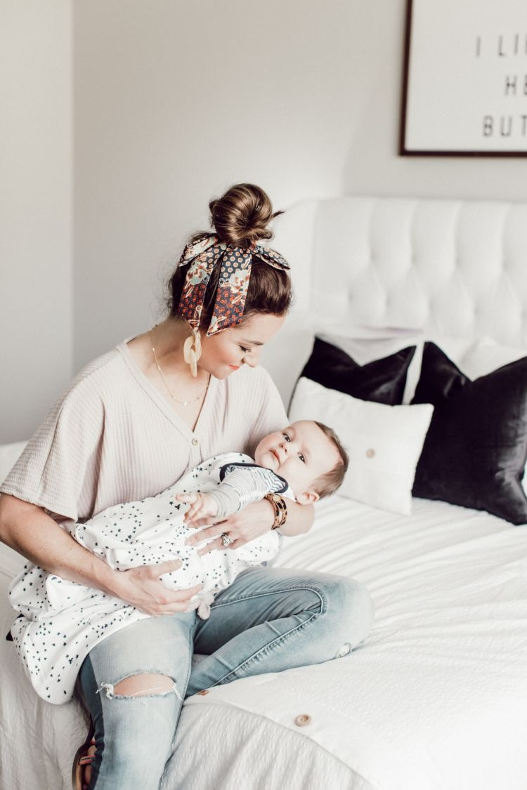 Our Morning Routine With A Toddler & A Baby by Life + Style Blogger, Heather Brown // My Life Well Loved