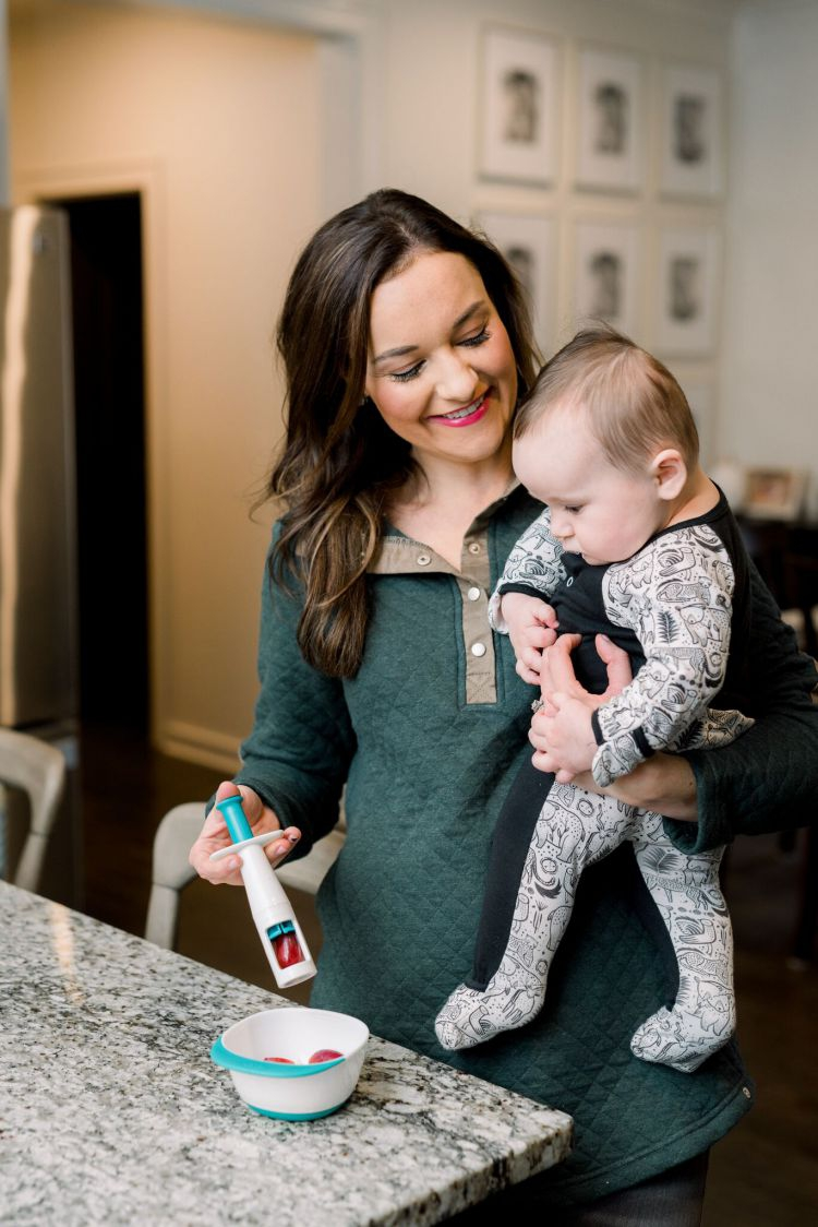 Tips for starting baby on solids by Heather Brown at My Life Well Loved // #oxotot #startingsolids #feedingbabysolids