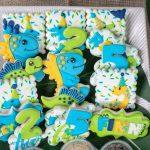 Leyton And Finn's Sibling Dino Birthday Party
