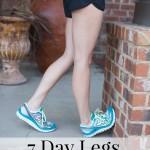 7 Day Legs Challenge
