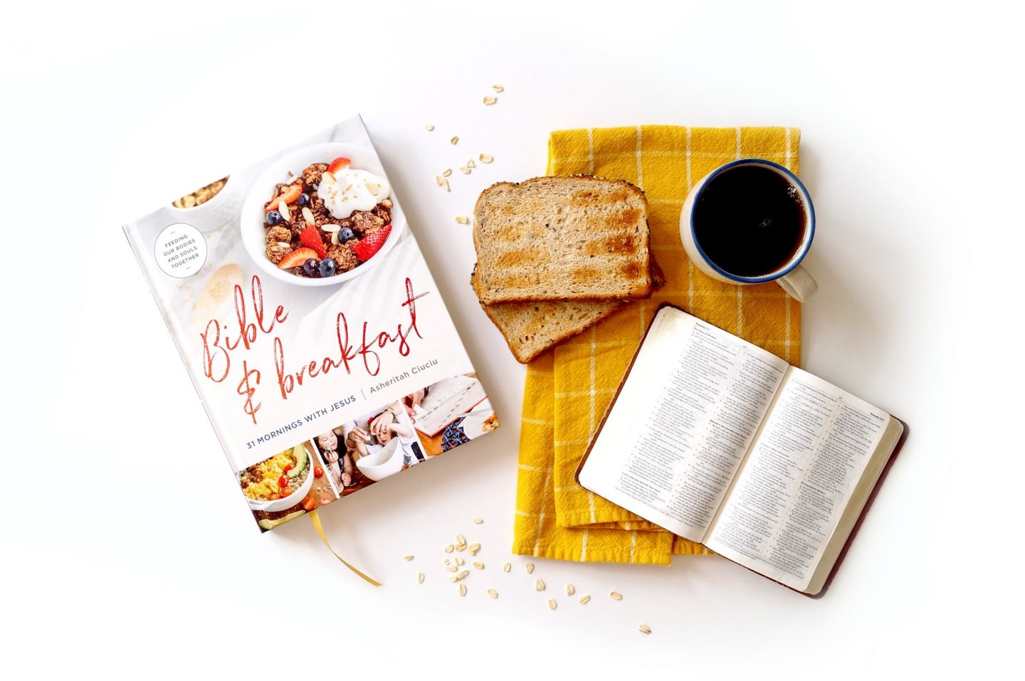 Bible and breakfast cookbook devotional by Moody Publishers