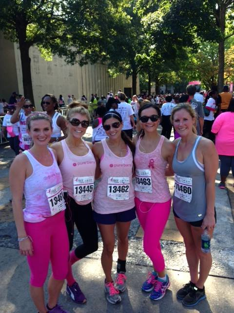 Breast Cancer Awareness Run Birmingham