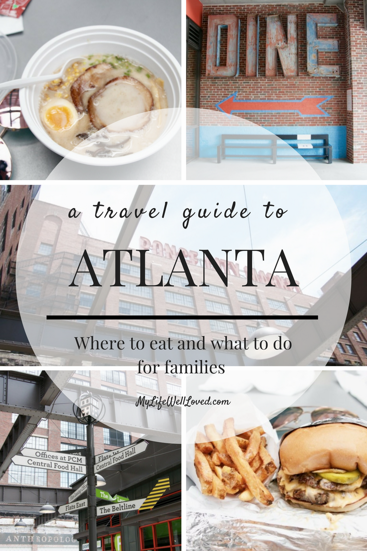 Ponce City Market: Things to see and do in Atlanta, Ga with a family // Roswell, GA road trip in a Camry for a family from Heather Brown of MyLifeWellLoved.com