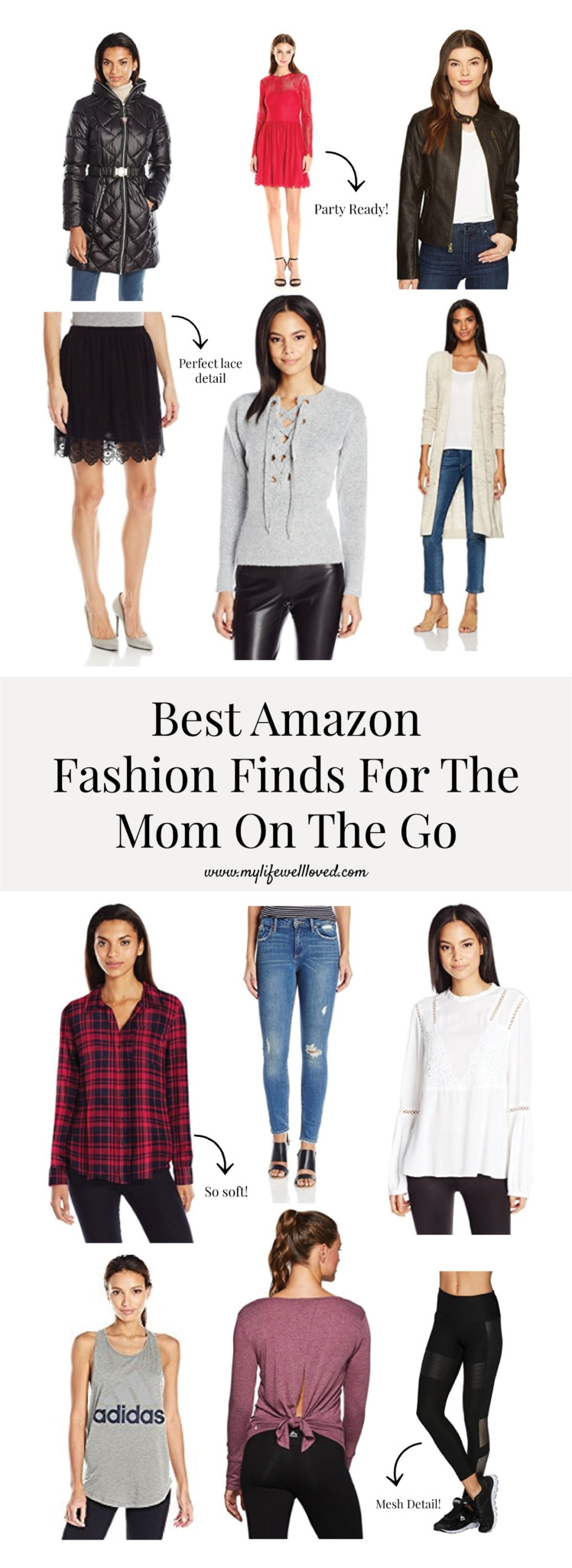 Best Amazon Fashion Finds for the Mom on the Go by alabama blogger Heather Brown // busy clothes // fast fashion //