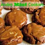 5 Ingredient Mint Cookies