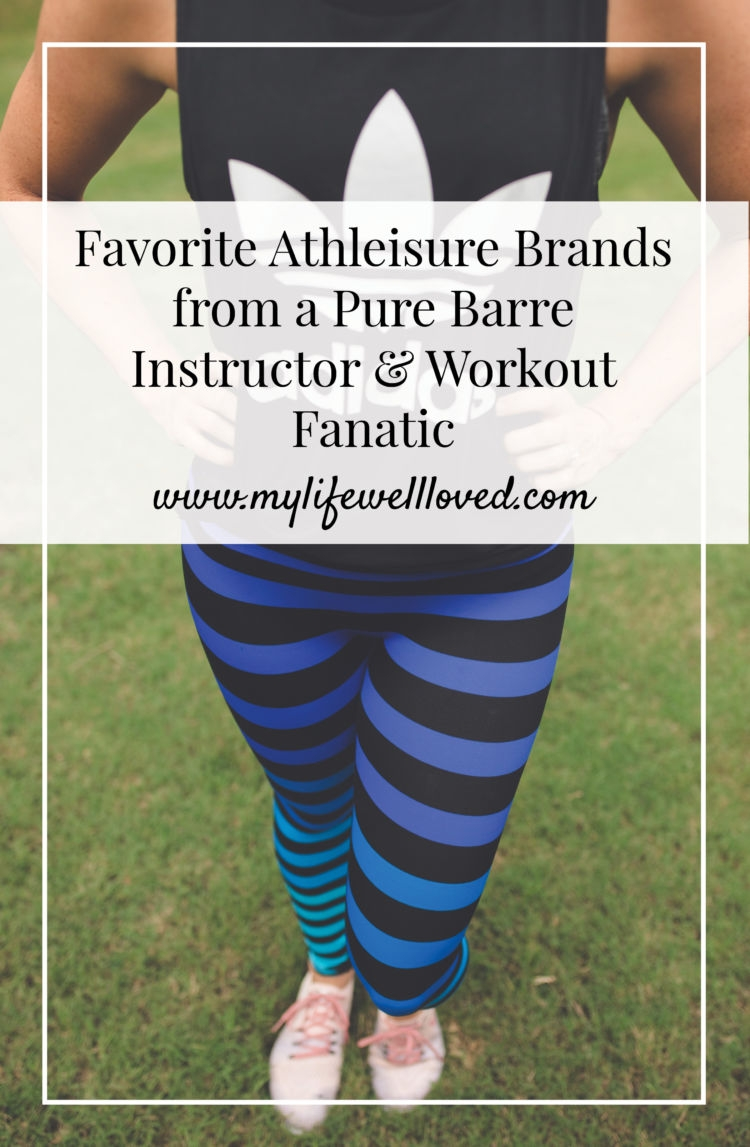 Favorite Athleisure from healthy lifestyle blogger in Alabama Heather of MyLifeWellLoved.com