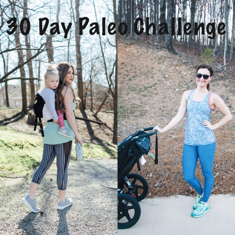30 Day Paleo Challenge: Benefits of Exercising with Baby from Heather Brown of MyLifeWellLoved.com, Laura of WalkinginMemphisinHighheels.com and Jessica of HappilyHughes.com