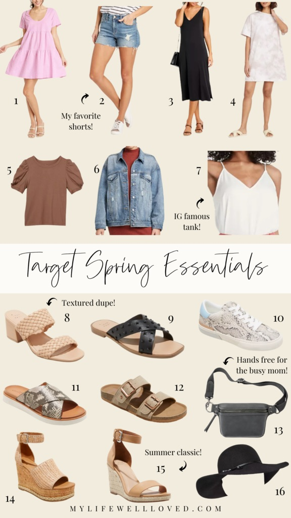 Target Favorites: 16 Spring Essentials For The Busy Mom by Alabama Mommy + Style blogger, Heather Brown // My Life Well Loved