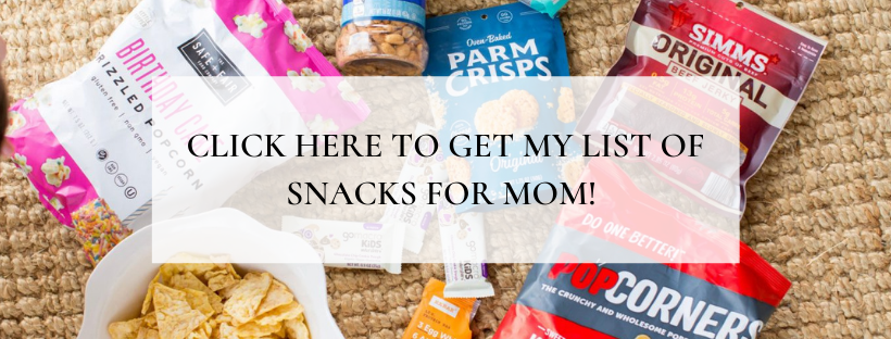 List of Snacks for Mom / My Life Well Loved / Heather Brown / Healthy Eating
