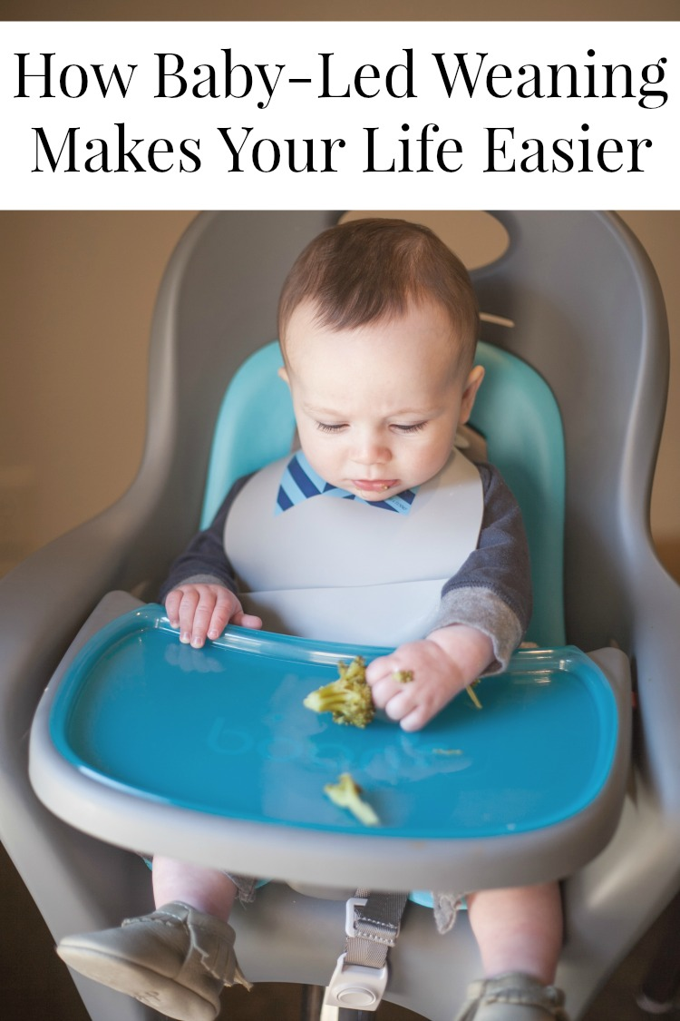 My Life Well Loved: Baby Led Weaning and How it Makes Your Life Easier