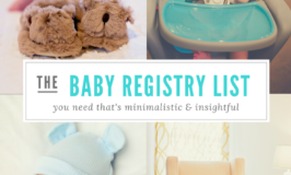 The Best Minimalistic Baby Registry Must-Haves