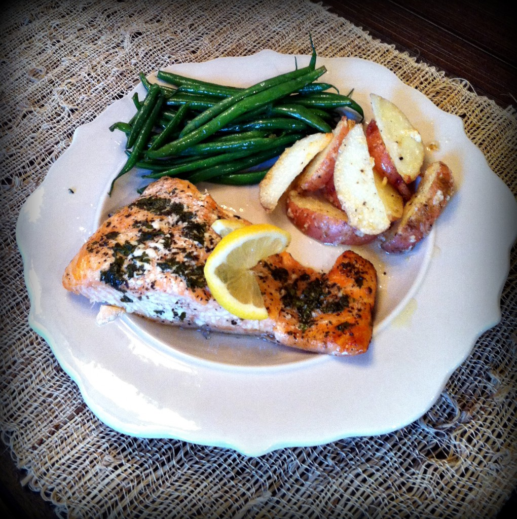 Baked Salmon | My Life Well Loved