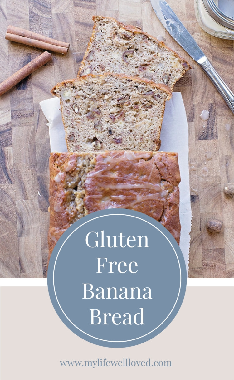 Gluten Free Banana Bread by Alabama blogger Heather Brown / breakfast / whole 30 /
