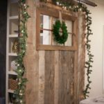 Barn Door Decor for Christmas