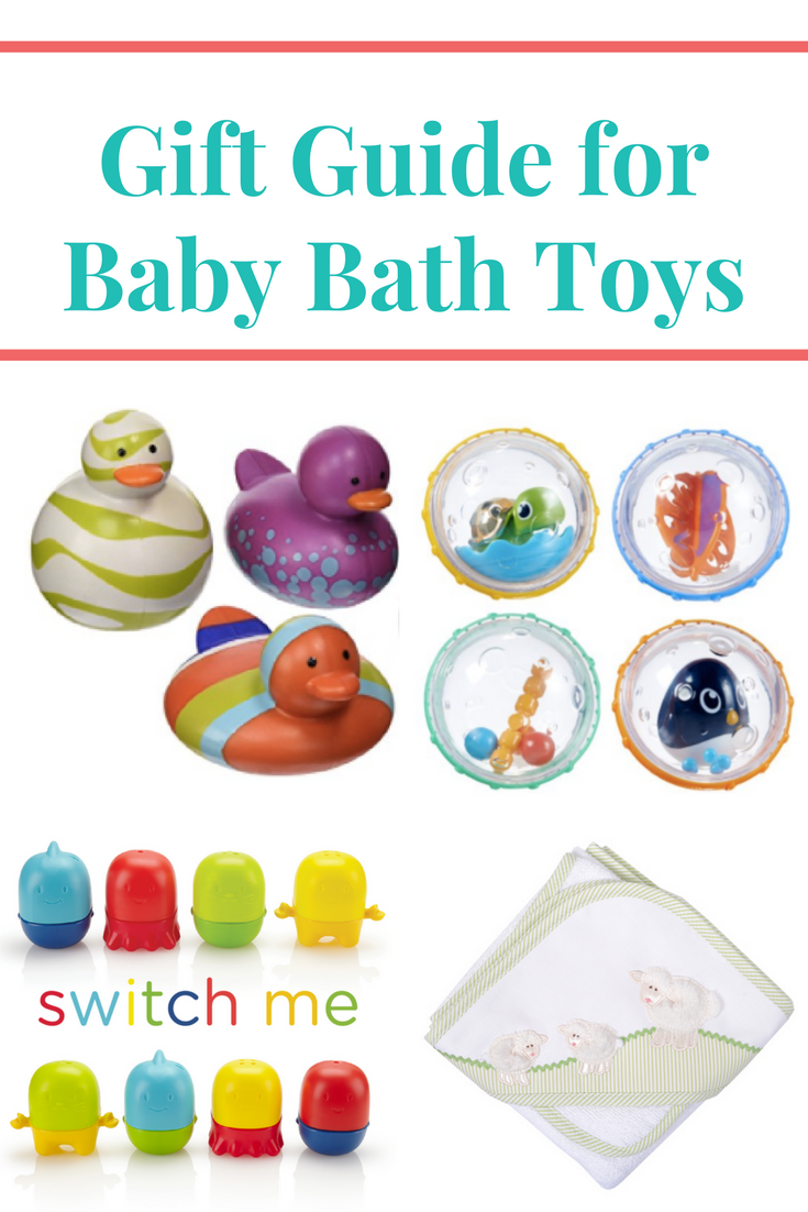 Baby Gift Guide : Bath theme baby gift ideas