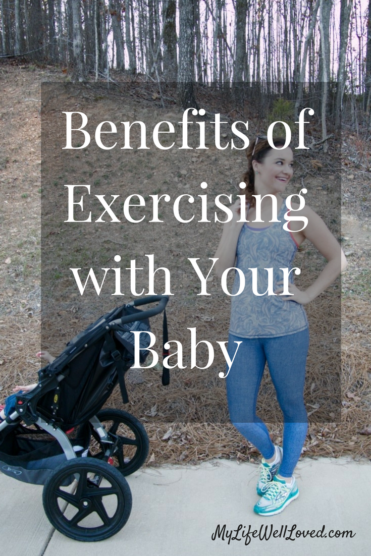Mom & Toddler Fitness + Benefits of Exercising with Baby from Heather Brown of MyLifeWellLoved.com