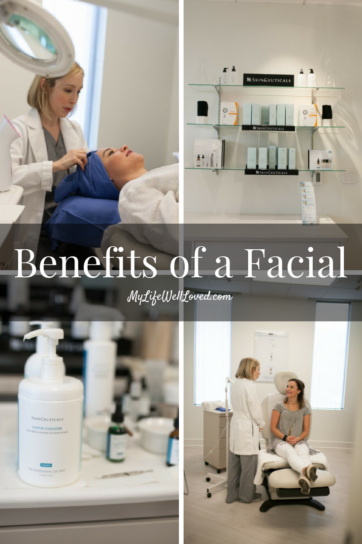 Benefits of a Facial with Heather Brown of MyLifeWellLoved.com and SkinCeuticals Triple Lipid Restore
