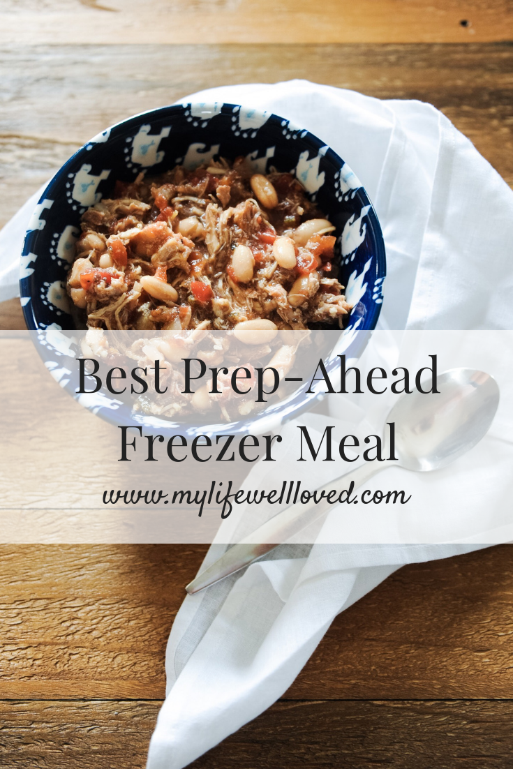 Freezer Meal for New Mom or For Fall by AL Blogger, Heather at MyLifeWellLoved.com // #freezermeal #easyrecipe #fallrecipe
