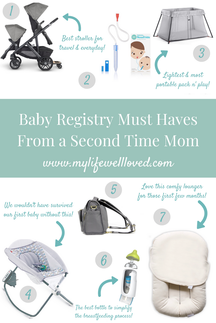 My The Ultimate Baby Registry For Second Baby - My Life Well Loved