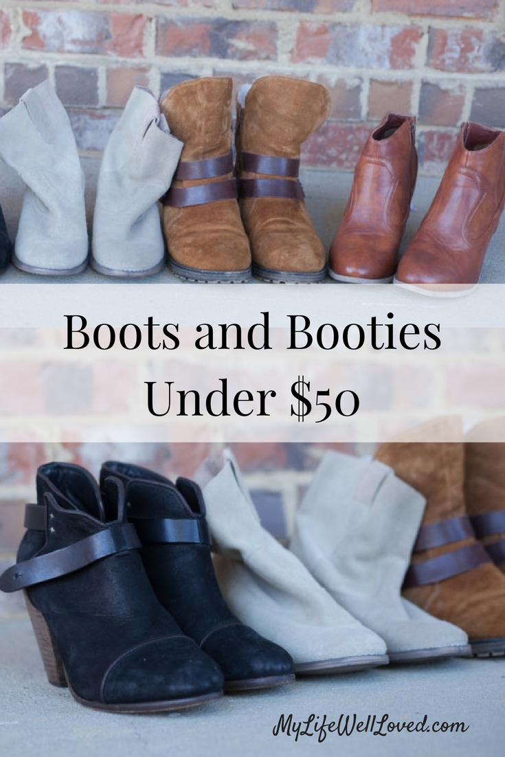 Boots and Booties Under $50