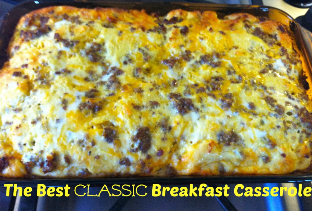 Classic Breakfast Casserole from My Life Well Loved