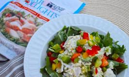 Clean Eating Bulgur and Crab Salad