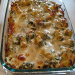 Delicious Spinach & Chicken Pasta Bake
