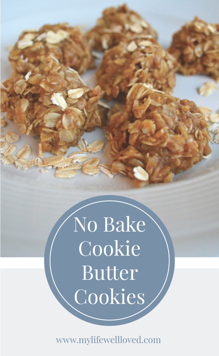 No Bake Cookie Butter Cookies by Alabama Blogger Heather Brown // healthy cookies // energy // whole foods // dessert // healthy // snack //