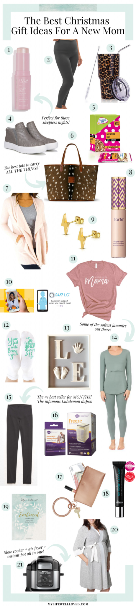 The Best Christmas Gift Ideas For New Moms My Life Well Loved