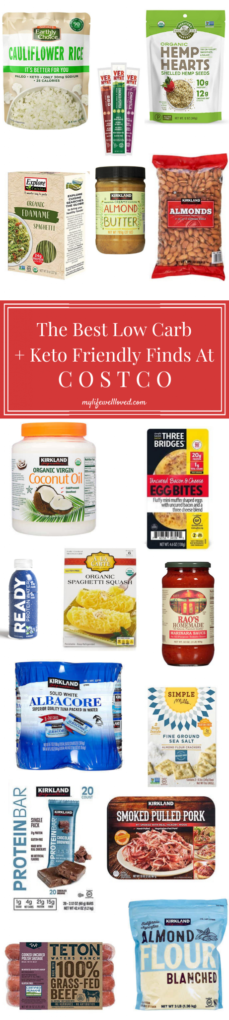 Top 22 Costco Low Carb Foods by Alabama Life + Style Blogger, Heather Brown // My Life Well Loved