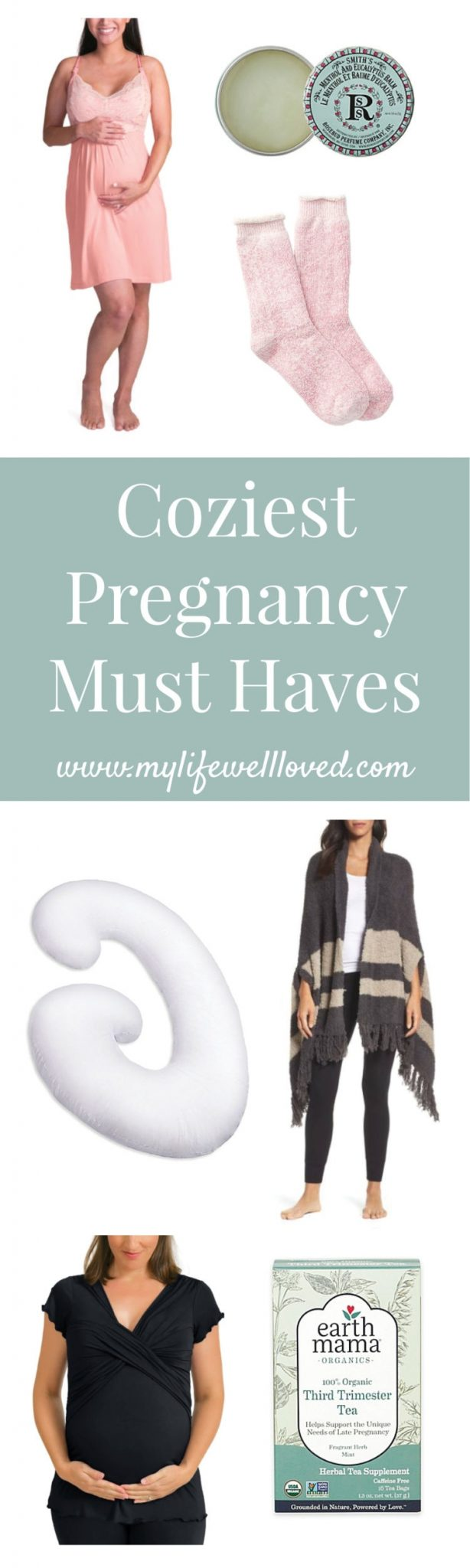 Coziest Pregnancy Must Haves from Alabama Health blogger Heather of MyLifeWellLoved.com // #secondtrimester #secondtrimester #pregnancy