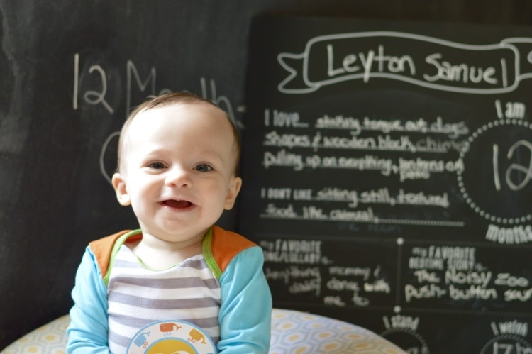My Life Well Loved: Leyton is 12 months old
