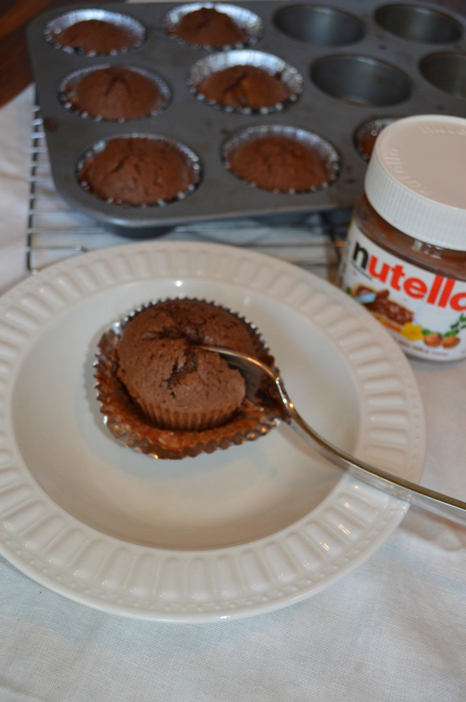 Nutella Brownie Muffins-a healthier dessert from My Life Well Loved